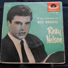 Discos de vinilo: RICKY NELSON // JOVEN INFATIGABLE + 3. Lote 51030860