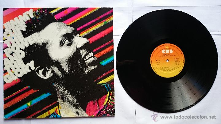 JIMMY CLIFF - THE POWER AND THE GLORY (1ª EDICION 1983) (Música - Discos - LP Vinilo - Reggae - Ska)