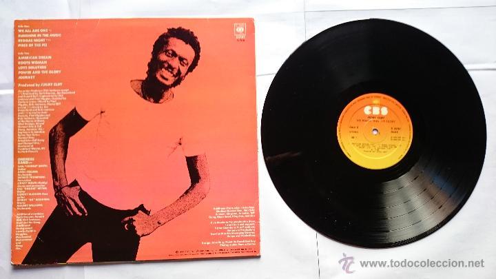 Discos de vinilo: JIMMY CLIFF - THE POWER AND THE GLORY (1ª EDICION 1983) - Foto 2 - 51031081