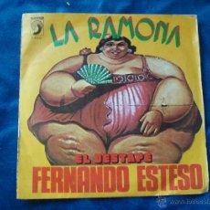 Discos de vinilo: FERNANDO ESTESO LA RAMONA EL DESTAPE 1976. Lote 51032792