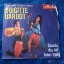 Discos de vinilo: BRIGITTE BARDOT CHA CHA MARSCH-SAMBA VERCION ALEMANA SELLO ARIOLA UNICO Y MUY DIFICIL. Lote 51033381