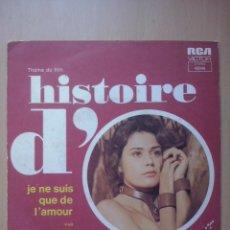 Disques de vinyle: ANDRE POPP- SWEET MARY/ JE NE SUIS QUE DE L'AMOUR- RARO SINGLE FRANCIA RCA 1975 . Lote 51044259