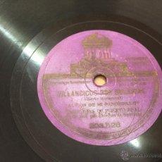 Discos de vinilo: VILLANCICOS POR BULERIAS, CANALEJAS DE PUERTO REAL PIZARRA. Lote 51046658