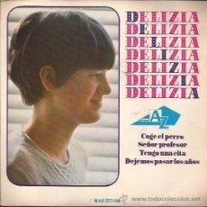 Discos de vinilo: EP-DELIZIA COGE EL PERRO HISPAVOX 27720 SPAIN 1966 ADAMO SISTER. Lote 51047016