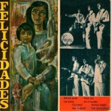Discos de vinilo: LOS PRACHASG - EP SINGLE VINILO 7'' - EDITADO EN ESPAÑA - ALMA QUE VA SOLA + 3 - HISPAVOX 1967. Lote 51049892