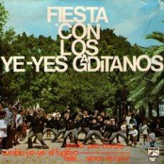 Discos de vinilo: LOS YE-YES GADITANOS - EP SINGLE VINILO 7'' - EDITADO EN ESPAÑA - CUMBIA YE-YÉ + 3 - PHILIPS 1966. Lote 115851266