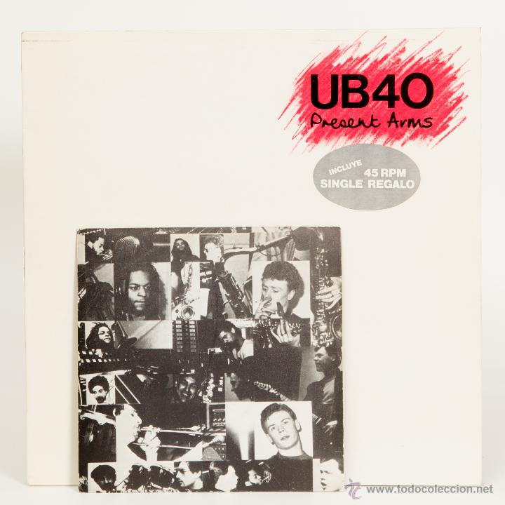 UB40 - PRESENT ARMS LP + SINGLE (Música - Discos - LP Vinilo - Reggae - Ska)