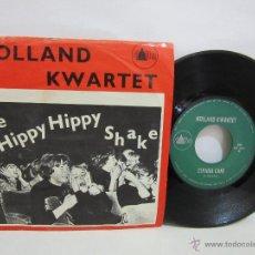 Discos de vinilo: HOLLAND KWARTET - DE HIPPY HIPPY SHAKE - EDICION MUY LIMITADA - HOLANDA - 1964 - VG+/VG. Lote 51051890