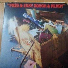 Discos de vinilo: FREE FREE & EASY ROUGH & READY LP SPAIN 1977. Lote 51053635
