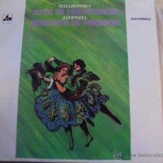Discos de vinilo: SUITE CASCANUECES / TCHAIKOWSKY - CONCIERTO DE VARSOVIA / ADDINSELL - SCHUCHTER - ENVIO GRATIS. Lote 51053661