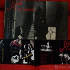 Discos de vinilo: SISA & MELODRAMA - LP ORIGINAL EDIGSA 1979 - NUEVO A ESTRENAR + REGALO DE CD´S Y FOTO. Lote 51053965