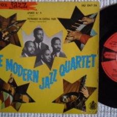 Discos de vinilo: THE MODERN JAZZ QUARTET - '' APUNTE N.º 9 (CUE 9) '' EP 7'' SPAIN 1961. Lote 51057772