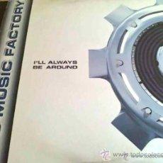 Discos de vinilo: C + C MUSIC FACTORY - I'LL ALWAYS BE AROUND - MAXI SINGLE DE VINILO. Lote 69382226