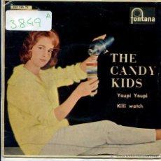 Discos de vinilo: THE CANDY KIDS / VOY A LLAMAR A TU PUERTA / YOUPI YOUPI / KILLI WATCH + 1 (EP 1961). Lote 51063246