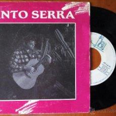 Discos de vinilo: SINTO SERRA, MALLORCA + UN ROSER GELOS (BLAU 1987) SINGLE - JOAN BIBILONI. Lote 51066587