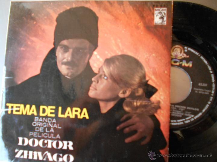 DOCTOR ZHIVAGO-EP BSO DEL FILM 1966 (Música - Discos de Vinilo - EPs - Bandas Sonoras y Actores)