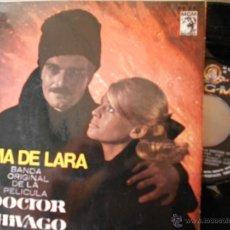 Discos de vinilo: DOCTOR ZHIVAGO-EP BSO DEL FILM 1966. Lote 51068790