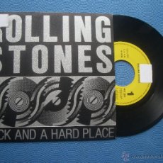 Discos de vinilo - THE ROLLING STONES ROCK AND HARD PLACE SINGLE SPAIN 1989 PDELUXE - 51071082