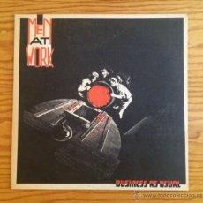 Discos de vinilo: MEN AT WORK - BUSINESS AS USUAL - VINILO - LP - MÚSICA. Lote 51072564