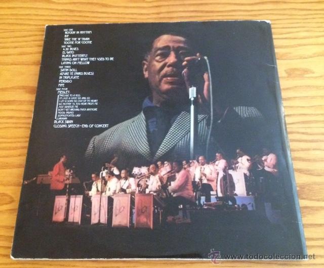Discos de vinilo: DUKE ELLINGTONS - 70 TH BIRTHDAY CONCERT - LP - VINILO - Foto 3 - 51073216