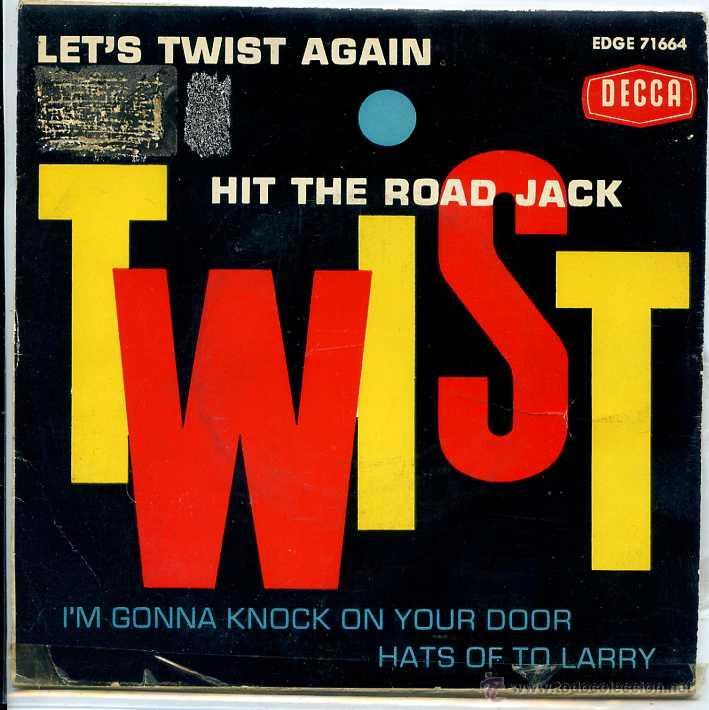 CLINT WEBSTER / HIT THE ROAD JACK / LET'S TWIST AGAIN / HATS OF TO LARRY + 1 (EP 1962) (Música - Discos de Vinilo - EPs - Pop - Rock Extranjero de los 50 y 60)