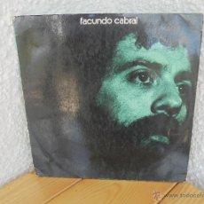 Discos de vinilo: FACUNDO CABRAL. DISCOGRAFICA RCA. 1972. VER FOTOGRAFIAS ADJUNTAS.. Lote 51077985