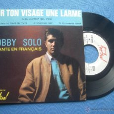 Discos de vinilo: BOBBY SOLO CHANTE EN FRANÇAIS.4HITS EP FRANCIA PDELUXE. Lote 51080434