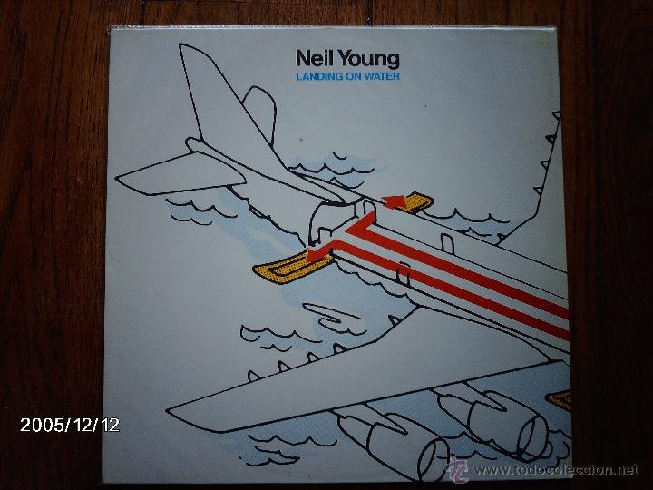 NEIL YOUNG - LANDING ON WATER (Música - Discos - LP Vinilo - Rock & Roll)