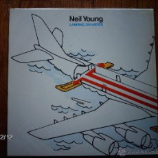 Discos de vinilo: NEIL YOUNG - LANDING ON WATER. Lote 51083038