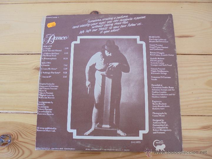 Discos de vinilo: BANCO. MANTICORE 1975. VER FOTOGRAFIAS ADJUNTAS. - Foto 6 - 51083256