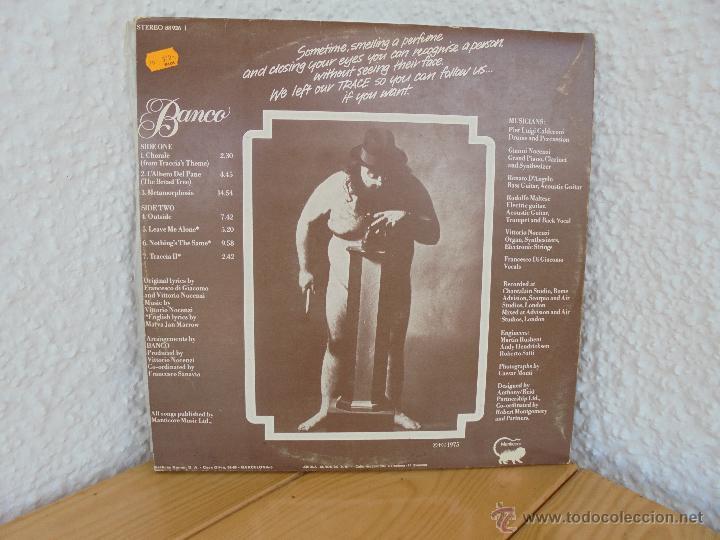 Discos de vinilo: BANCO. MANTICORE 1975. VER FOTOGRAFIAS ADJUNTAS. - Foto 7 - 51083256