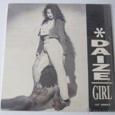 Discos de vinilo: DAIZE - GIRL (4 VERSIONES) 1989 USA MAXI SINGLE. Lote 51083592