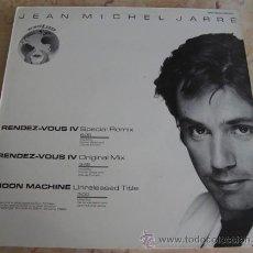 Discos de vinilo: JEAN MICHEL JARRE - RENDEZ VOUS IV - SPECIAL REMIX - MAXISINGLE 12''. Lote 51085302