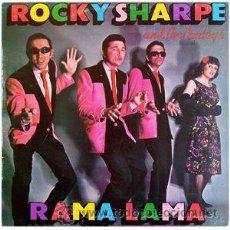 Discos de vinilo: ROCKY SHARPE & THE REPLAYS – RAMA LAMA (CHISWICK RECORDS, 171510/5, LP, 1979) ROCK & ROLL, DOO WOP. Lote 51085375