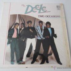 Discos de vinilo: DEELE (L.A. REID & BABYFACE) - TWO OCCASIONS (2 VERSIONES) 1988 SPAIN MAXI SINGLE. Lote 51086029