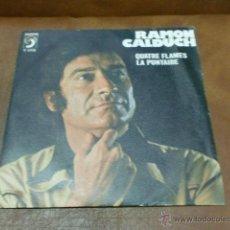 Discos de vinilo: DISCO: RAMON CALDUCH.-QUATRE FLAMES/LA PUNTEIRE-SARDANA- AÑO 1976. Lote 51088119