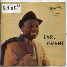 Discos de vinilo: EARL GRANT / SERMONETTE / MY FOOLISH HEART + 2 (EP 1962). Lote 51089256