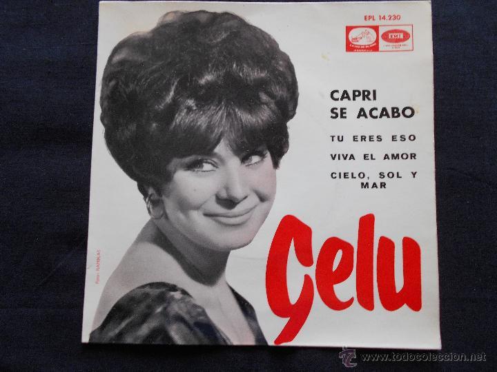 GELU // CAPRI SE ACABO + 3 (Música - Discos de Vinilo - EPs - Solistas Españoles de los 50 y 60)