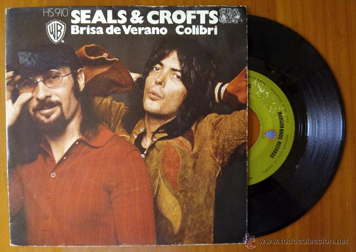 Discos de vinilo: SEALS & CROFTS, BRISA DE VERANO + COLIBRI (HPVX 1973) SINGLE ESPAÑA - SUMMER BREEZE - Foto 1 - 51094054