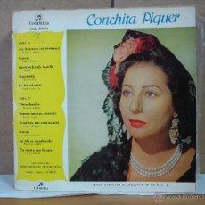 Discos de vinilo: CONCHITA PIQUER - IDEM COLUMBIA CCL 32049 - 1961. Lote 51095212