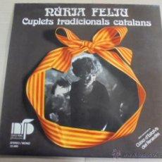 Discos de vinilo: NURIA FELIU - CUPLETS TRADICIONALS CATALANS - MUY BUEN ESTADO. Lote 51096131