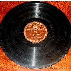 Discos de vinilo: DISCO DE PIZARRA DE JUAN GARCIA, RIAU, RIAU - COMO LA CAÑA DEL TRIGO, LA REGULVIDERA, ED. PARLOPHON,. Lote 51101135