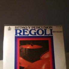 Discos de vinilo: REGOLI RITMO Y PERCUSIÓN LP. Lote 51101287