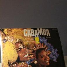 Discos de vinilo: ROBERTO DELGADO Y SU ORQUESTA CARAMBA LP. Lote 51101418