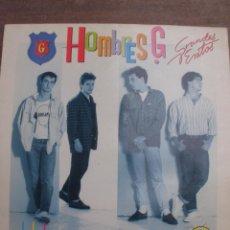 Discos de vinilo: VINILO HOMBRES G, GRANDES EXITOS. INCLUYE 2 TEMAS INÉDITOS. Lote 51102378