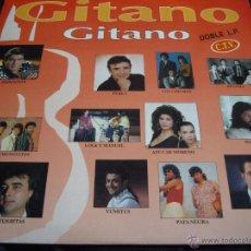 Discos de vinilo: GITANO DOBLE LP-CHICHOS, CHUNGUITOS, PATA NEGRA, LOS AMAYA-DOBLE LP. Lote 51103934