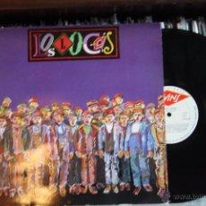 Discos de vinilo: LOS LOCOS, S/T, 1º LP, DISCO DE CULTO, POP ROCK ASTUR, TWINS RECORDS, 1987, SPAIN. Lote 51105440