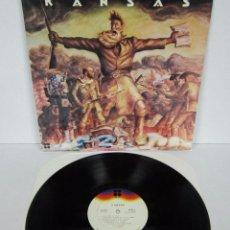 Discos de vinilo: KANSAS - KANSAS - 1º LP - KIRSHNER 1974 USA - MINT. Lote 51106328