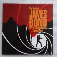 Discos de vinilo: BANDA SONORA - THE BEST OF JAMES BOND 30TH ANNIVERSARY COLLECTION LP 1992 EDICION ESPAÑOLA. Lote 51107650