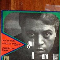 Discos de vinil: GUILLEM D'EFAK - MAI DE MAIS / CANÇÓ DE SON COLETES / INVENTARI DE TARDOR (CONCÈNTRIC,1967) . Lote 51108970